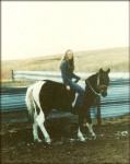 The Story of My Sister's First Horse Apache