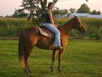 Me and My Mare Daisy