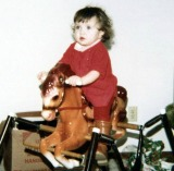 Me Riding Horseback At Age One
