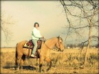Riding My Buckskin Mare