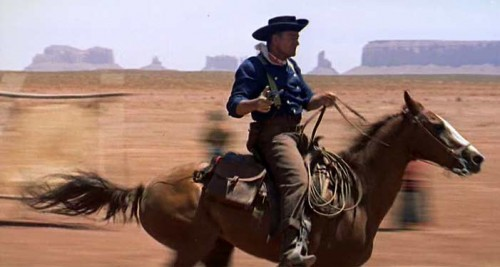 John Wayne Movie Riding Skills