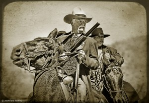 Old West Riding Photo