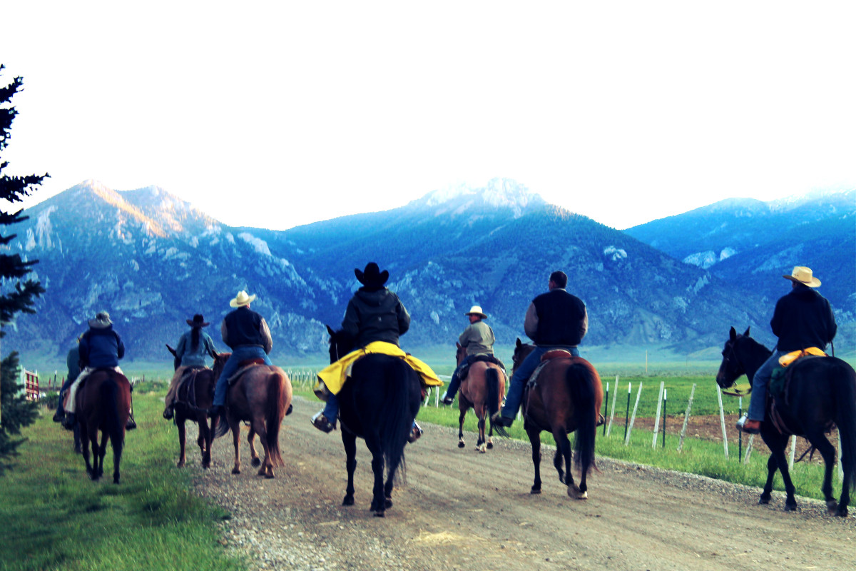 Morning Ride at the Lewis Ranch