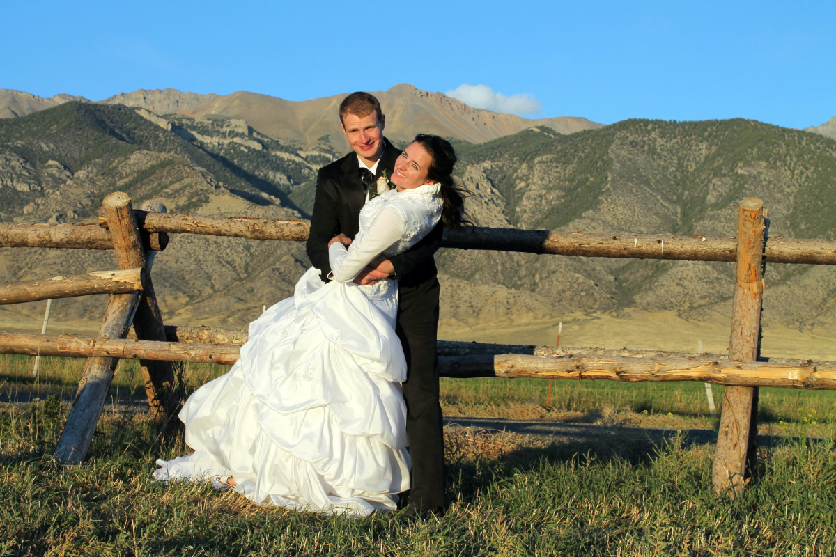 Idaho Wedding Photo